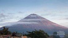 Огромна паника на Бали заради вулкана Агунг