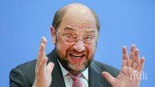 Партията на Шулц отказа коалиция, влиза в опозиция