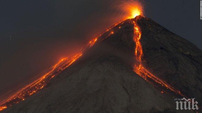 10 хил. души избягаха от домовете си заради вулкан в Бали