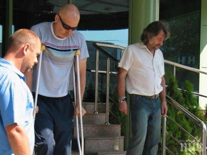 ХОДЕНЕ ПО МЪКИТЕ! Слави се стопи с 20 кила след тежката операция! Водещият не прилича на себе си