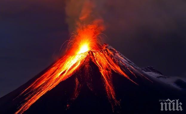 6000 души евакуираха заради изригване на вулкан