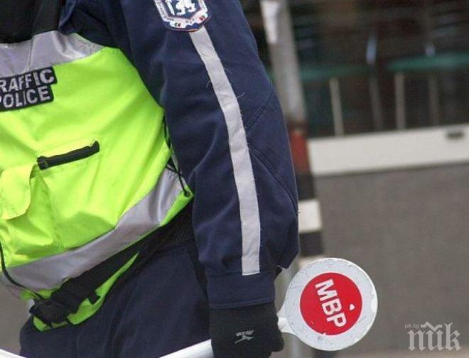 Задържаха румънски шофьор, опитал се да подкупи наши полицаи