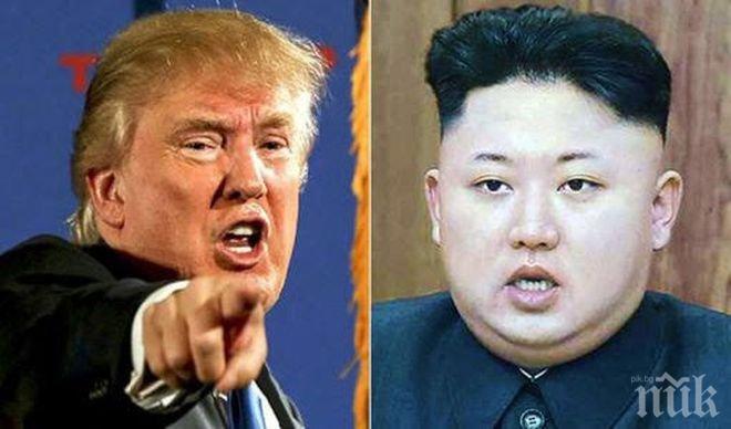 Ким Чен-ун: Доналд Тръмп ще плати скъпо заради заплахите срещу Пхенян