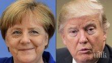 Белият дом: Доналд Тръмп и Ангела Меркел са обсъдили Иран по време на телефонен разговор