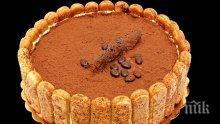 Торта с бисквити и маслен крем