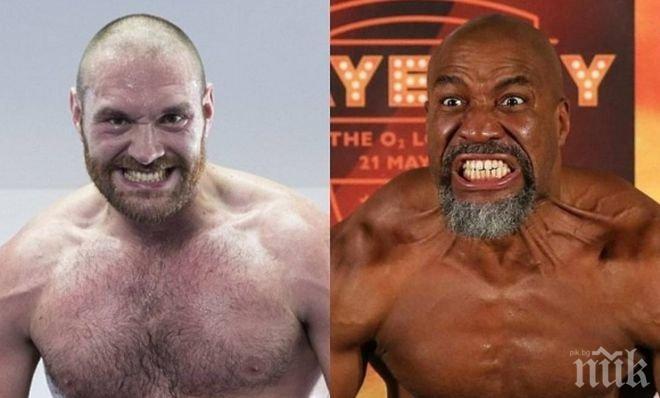 Задава се най-лудият мач в бокса! Шенън Бригс срещу Тайсън Фюри