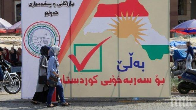 Забраната за международни полети към Иракски Кюрдистан влезе в сила
