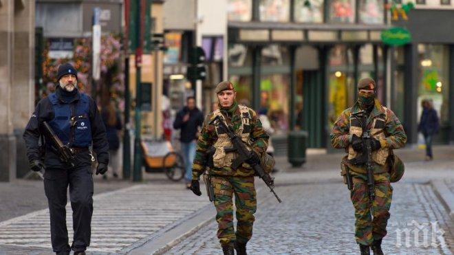 Белгия засилва охраната на военните патрули