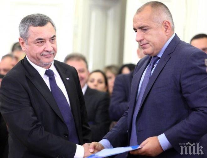 ИЗВЪНРЕДНО В ПИК TV! Борисов се извини на Валери Симеонов за шефката на ДНСК