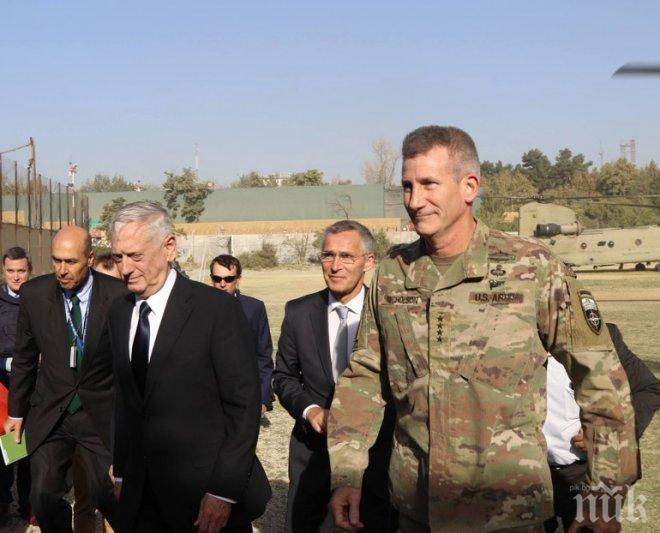 Талибани откриха огън по шефовете на НАТО и Пентагона