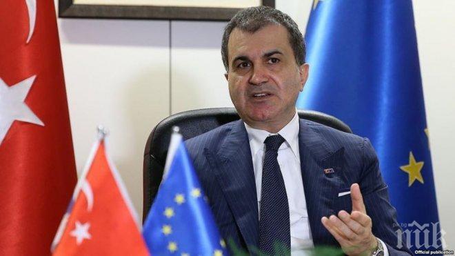 Турски министър отсече: Не е възможна европейска армия без нас