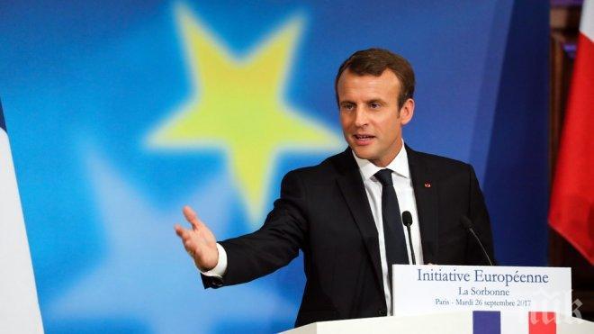 Радикални промени! Макрон иска обща армия в ЕС