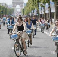 париж трета година проведе ден без автомобили