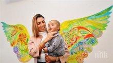 Синът на Златка Димитрова тръгна по партита! Звездни майки и татковци откриха детски център за изкуства (СНИМКИ)