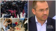 ЕКСКЛУЗИВНО! Ангел Джамбазки за Каталуния: Този референдум е защото не искат да издържат Испания