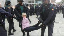 Броят на ранените в Каталония расте, достигна 460 души