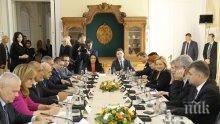 ПЪРВО В ПИК! Борисов с важни послания към Румъния на срещата с премиера Тудосе (СНИМКИ)