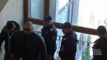 ИЗВЪНРЕДНО! Луд екшън в съда! Гринго се нахвърли на охраната, Софи Маринова избухна в плач (ВИДЕО)