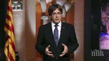 Каталонският лидер Карлес Пучдемон: Европейският съюз не може повече да си обръща главата настрани