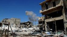 Най-малко 28 цивилни са загинали при въздушни удари в Идлиб
