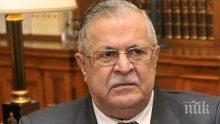 Почина бившият президент на Ирак Джалал Талабани