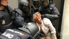 Ново 20! Над 330 души са ранени при сблъсъците в Каталония