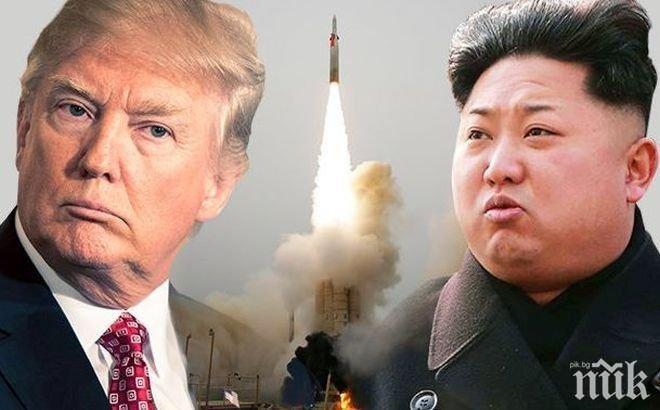 ВОЙНАТА СЕ ЗАДАВА! Северна Корея отправи брутална заплаха към САЩ