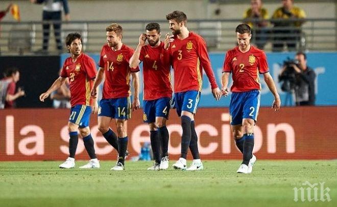 Шокираща версия! ФИФА вади Испания от Световното, ако Каталония се отдели