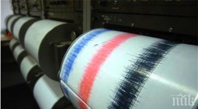 Земетресение разтресе Япония