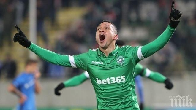Марселиньо пренаписа историята, вече е най-резултатният чужденец в Първа лига