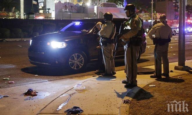 Стрелецът от Лас Вегас открил огън по полицаи преди да се самоубие