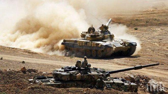 Турция продължава да съсредоточава войски по границата със Сирия