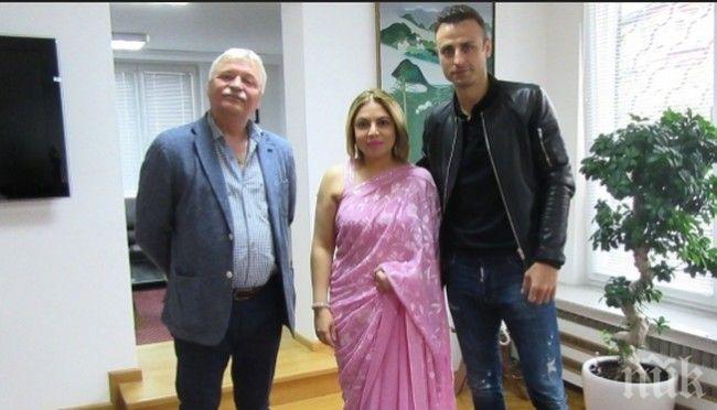 Бербо специален гост в посолството на Индия