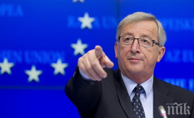Юнкер: Бъдещето на ЕС е по-важно от напускането на Великобритания