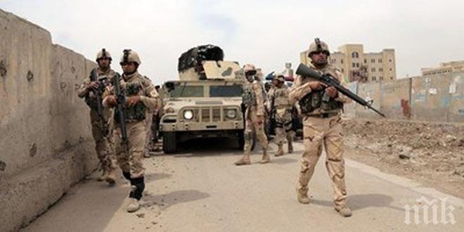 """Иракските сили за сигурност освободиха 25 села от """"Ислямска държава"""""""