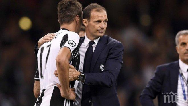 Масимилиано Алегри: Ако постоянно гледаме повторения, ще убием футбола