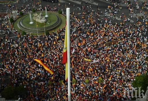 БЛОКАДА! Голяма стачка парализира Каталуния