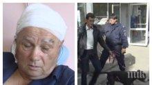 Нападнатият от питбул старец: Отхапа ми една трета от ухото!
