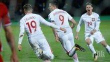 Левандовски троши рекорди, Полша на крачка от Световното в Русия