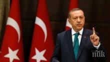 Ердоган предупреди, че скоро ще затвори границата с Иракски Кюрдистан