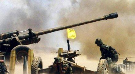Съветско оръдие открито при терористите от ИДИЛ