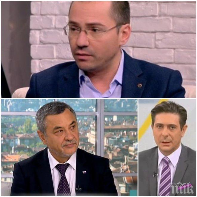 АКТУАЛНА ТЕМА! Ангел Джамбазки с ексклузивен коментар за ултиматума на Валери Симеонов