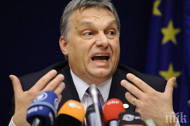 """Премиерът на Унгария изригна: Брюксел прилага плана """"Сорос"""" за миграцията в Европа"""