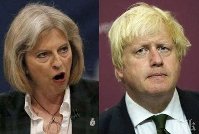 Тереза Мей подготвя понижение за Борис Джонсън при предстоящите промени в кабинета си