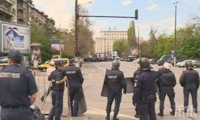 Сериозни мерки за сигурност заради мача между България и Франция