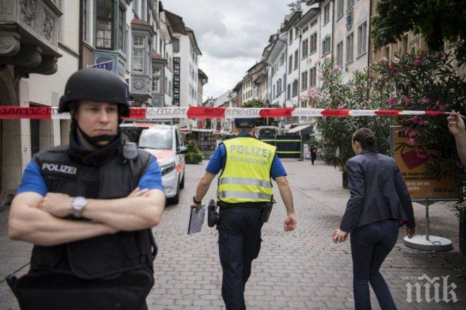 Швейцарската полиция застреля бежанец, нападнал с нож други мигранти