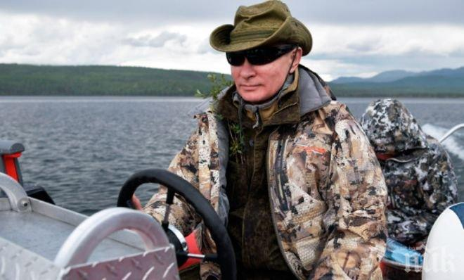 Путин става на 65! Британска марка пусна за юбиляра колекция Putin Style (СНИМКА)