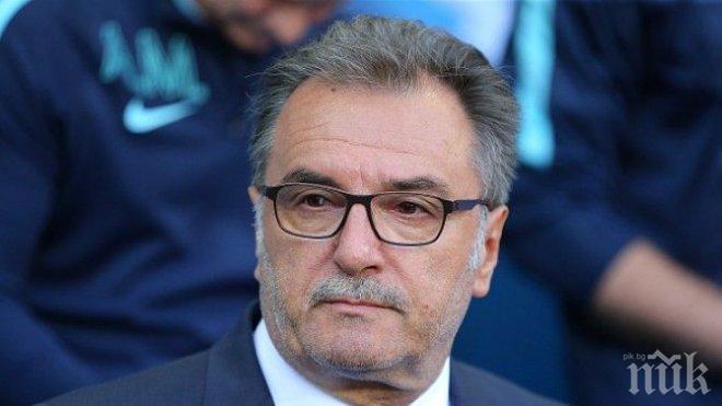 Уволнение! Националният отбор по футбол на Хърватия остана без селекционер