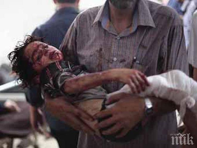 УЖАС! Над осем хиляди деца са загинали и пострадали във военни конфликти през 2016-та година