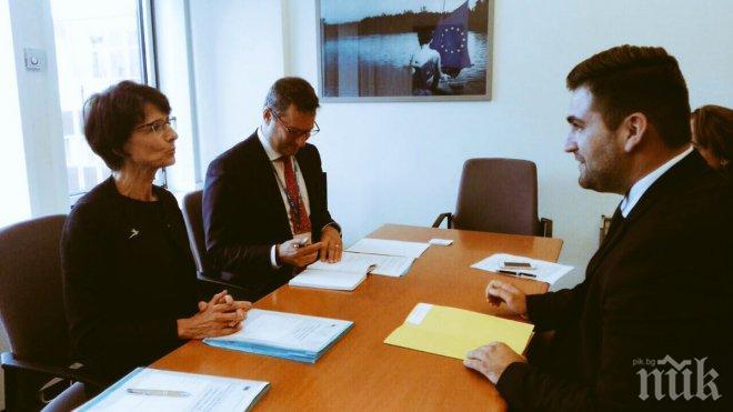 Андрей Новаков: Почти 60000 младежи в България са започнали работа благодарение на програми на ЕС